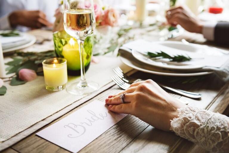 Pratos perfeitos para servir no casamento