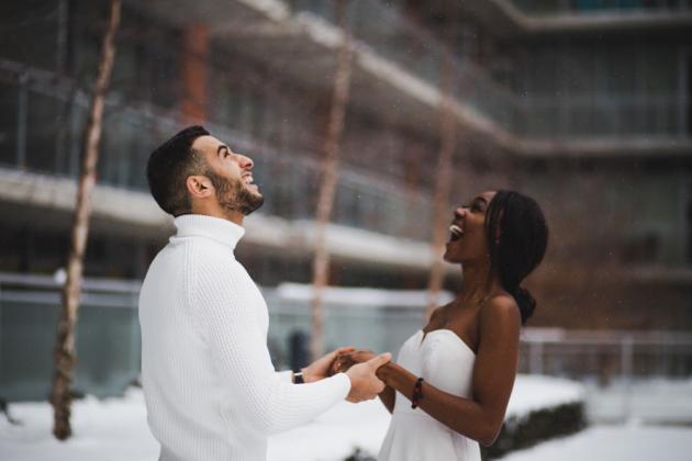 Casamento no inverno